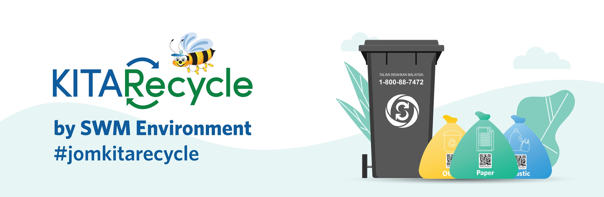 First page - KITARecycle Landing page
